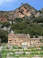 Lisos - Asklepios-Tempel Mauer