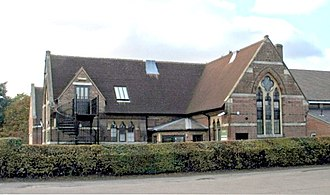 Little Gaddesden - Little Gaddesden Church of England Primary School, seen in 2009.