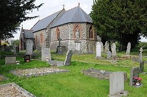 Llanyre - Church of St Llyr