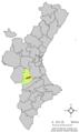 Localització de Bolbait respecte del País Valencià.png