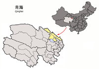 Location of Haibei Prefecture within Qinghai (China).png