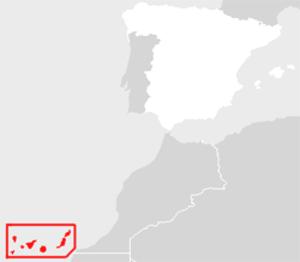 Creator Omnium - Locator map of Canary