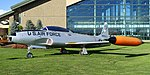 Lockheed T-33A Shooting Star, 1948 - Evergreen Aviation & Space Museum - McMinnville, Oregon - DSC00455.jpg