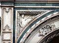 Loggia del bigallo, rilievi del xiv secolo, giustizia.JPG