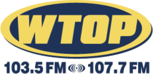 WTOP-FM - The WTOP logo after the WWWT signal was added.