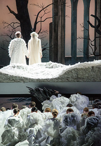 Lohengrin (opera) - Production of the Oslo Opera in 2015