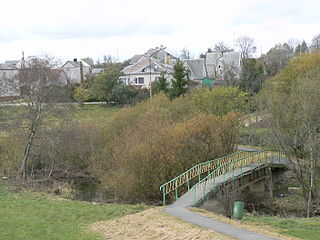 The river Lokysta at Silale town