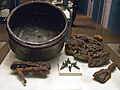 Lombard grave goods from Hagenow - 9-1995.jpg