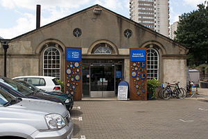 London Museum of Water & Steam - Image: London Museum of Water & Steam entrance
