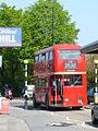 London Transport preserved bus RT1702 AEC Regent III RT Park Royal KYY 529 in Croydon 24 April 2009.jpg