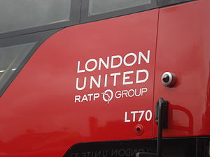 London United Busways - RATP Group London United logo