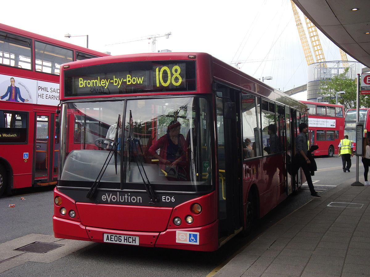 london buses route 108 - wikipedia