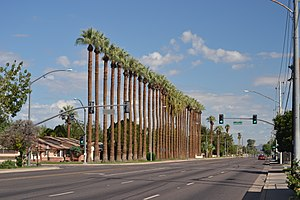 National Register of Historic Places listings in Maricopa County, Arizona - Image: Looking North on 59th Avenue