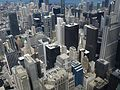 Looking Northeast from Willis Tower Skydeck, Chicago, Illinois (9179362219).jpg