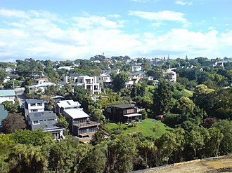 Remuera - Looking southeast over north Remuera