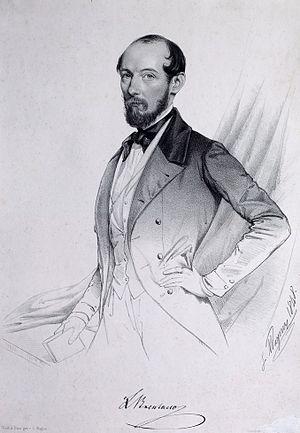 Illinois Staats-Zeitung - Lorenz Brentano, editor of the Staats-Zeitung 1861 to 1867.