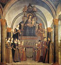 Lorenzo Costa - Giovanni II Bentivoglio and His Family - WGA05427.jpg