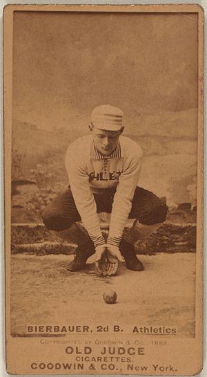 Lou Bierbauer - Image: Lou Bierbauer baseball card