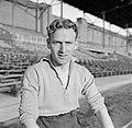 Louis Biesbrouck (RCH) in het Olympisch Stadion in Amsterdam, enige dagen na de , Bestanddeelnr 191-1077.jpg