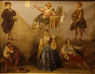 French romantic painter