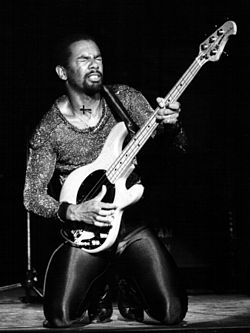 Louis Johnson nel 1980