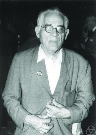 Louis J. Mordell - Louis Mordell in Nizza, 1970.