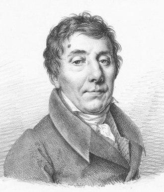 Louis de Bonald - Portrait of Bonald by Julien-Léopold Boilly