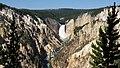 Lower Falls, Yellowstone Natl Park, 2016jul.jpg