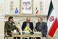 Lt. Gen. Fahd Jasem al-Freij meeting Ali Larijani (2).jpg