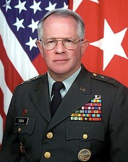 John A. Dubia retired U.S. Army general