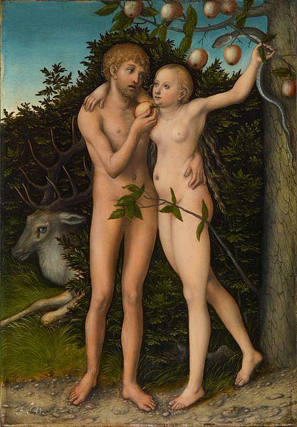 Lucas Cranach the Elder The Fall of Man