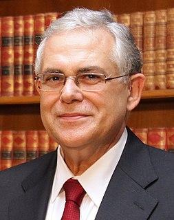 Lucas Papademos Greek economist and primeminister