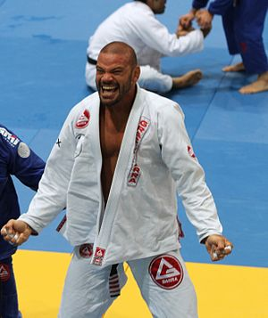 Lúcio Rodrigues - Rodrigues at the IBJJF European championship