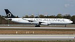 Lufthansa (Star Alliance livery) Airbus A340-300 (D-AIGP) at Frankfurt Airport (2).jpg