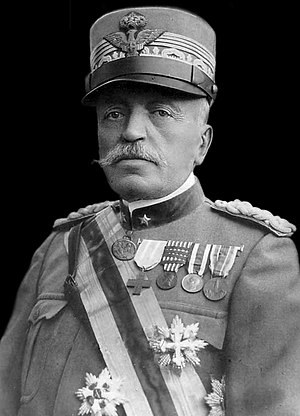 1917 in Italy - Chief of Staff, General Luigi Cadorna