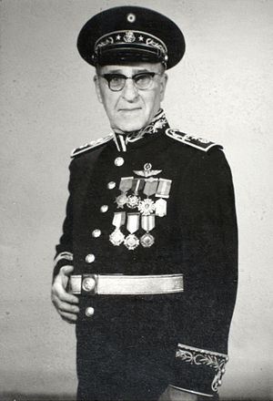 Luis Farell - General Luis Farell Cubillas in 1964.