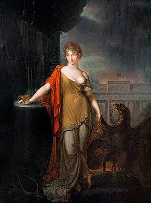 Karl Wilhelm Wach - ''Königin Luise'' (1812)