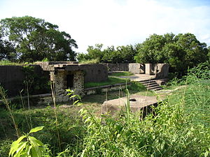 Pinewood Battery - View of Pinewood Battery