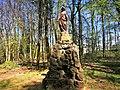 Luxembourg, statue de la Vierge Marie (Centre Jean-XXIII) (102).jpg
