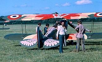 Stampe-Vertongen SV.4 - Lynn Garrison SV.4C painted for Cliff Robertson film project, Weston, Ireland, 1969