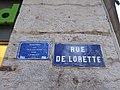 Lyon 1er - Rue de Lorette - Plaque avec souvenir trans 1 (fév 2019).jpg