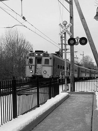 Bernards Township, New Jersey - Lyons train station in Bernards Township