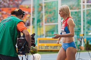 Lyudmila Kolchanova Russian long jumper