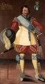 Målning. Porträtt. Officersvän. Claude Gebhardt de Laval - Skoklosters slott - 87817.tif