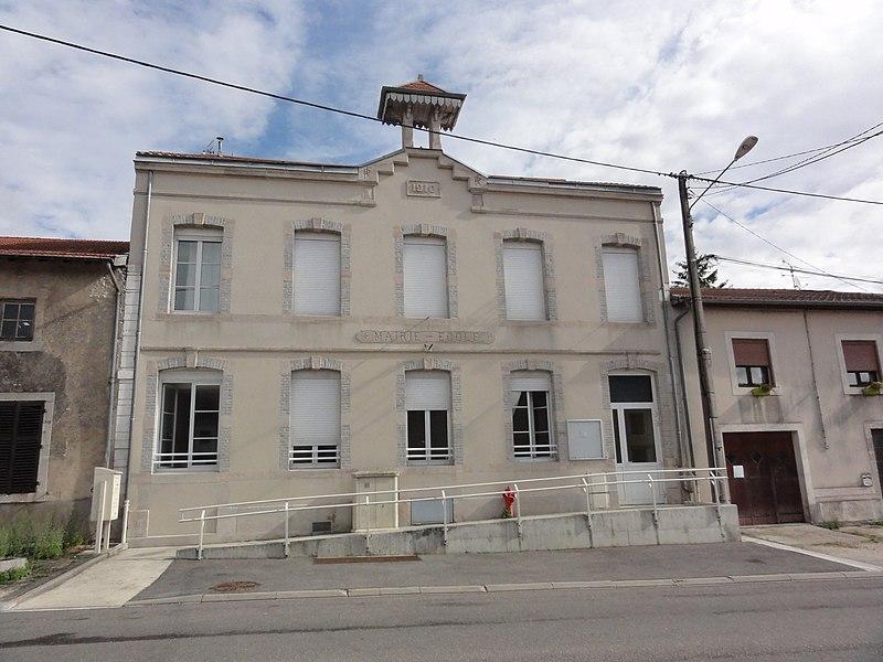Ménil-la-Horgne (Meuse) mairie-école