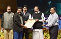 M. Venkaiah Naidu presenting the Professional Photographer of the Year to Shri K.K. Mustafah, at the 6th National Photography Awards Ceremony, in New Delhi.jpg
