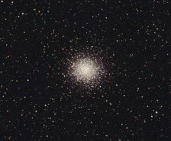 Messier 14 por um telescópio amador