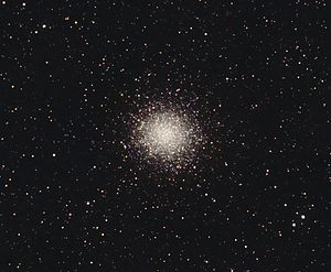 Messier 14 - Messier 14 with amateur telescope