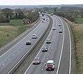 M42 Motorway towards Junction 11 - geograph.org.uk - 743375.jpg