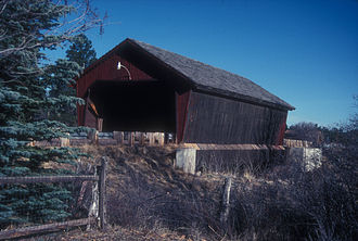 Pinedale, Arizona - Marreta B. Thomas Covered Bridge near Pinedale